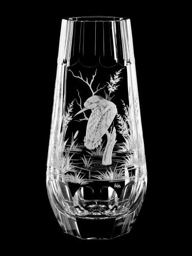 "Vase ""Martin-pêcheur"", 28 cm"