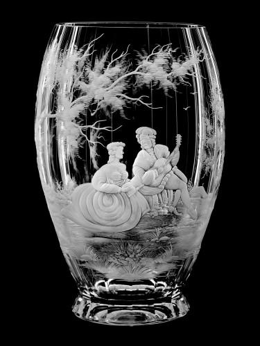 "Vase ""Musicians"", 29 cm"