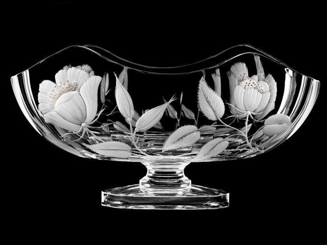 """Ваза-чаша  """"Цветы"""", 23 см"""