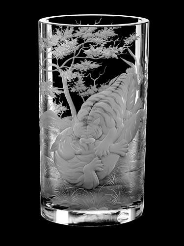 """Vase """"Tigers"""", 25 cm"""