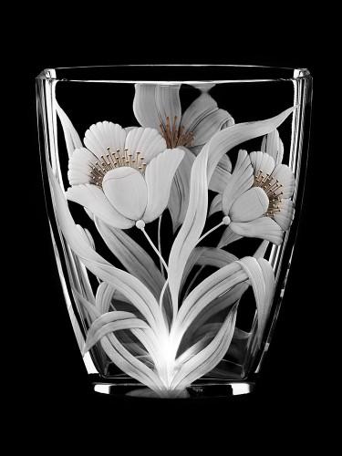 "Vase ""Flowers"", 24 cm"