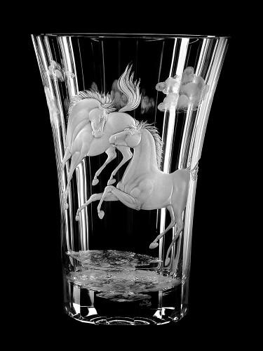"""Vase """"Pferde"""", 30 cm"""