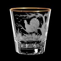 """Whiskey glass set """"Birds"""", 330 ml"""