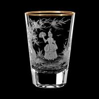 "Whiskey glass set ""Musicians"", 250 ml"