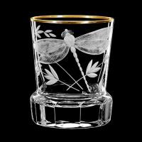 """Whiskey glass set """"Dragonfly"""", 300 ml"""