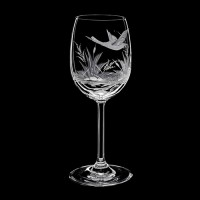"Wine glass set ""Birds"", 200 ml"