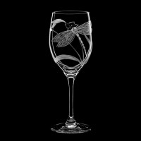 "Wine glass set ""Dragonfly"", 360 ml"