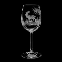 "Wine glass set ""Wild animals"", 200 ml"