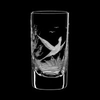 """Liquor glass set """"Birds"""", 45 ml"""