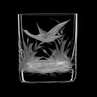 """Whiskey glass set """"Birds"""", 280 ml"""