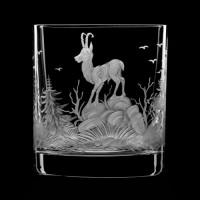 "Whiskey glass set ""Wild animals"", 280 ml"