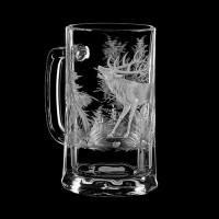 "Beer mug set ""Wild animals"", 500 ml"