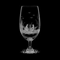 """Beer glass set """"Birds"""", 400 ml"""