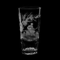 """Water glass set """"Musicians"""", 410 ml"""