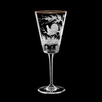 "Wine glass set ""Birds"", 170 ml"