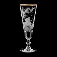 "Champagne glass set ""Musicians"", 180 ml"