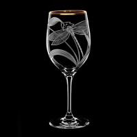 "Wine glass set ""Dragonfly"", 500 ml"