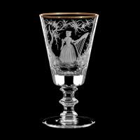 """Liquor glass set """"Musicians"""", 70 ml"""