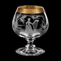 """Cognac glass set """"Musicians"""", 400 ml"""