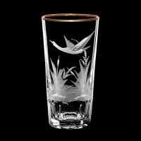 """Water glass set """"Birds"""", 400 ml"""