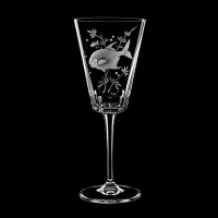 "Wine glass set ""Fish"", 280 ml"