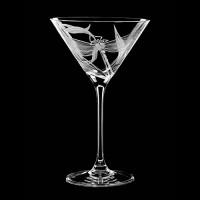 "Martini glass set ""Dragonfly"", 210 ml"