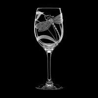 "Wine glass set ""Dragonfly"", 240 ml"