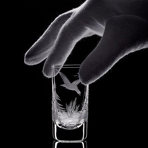 Уход за бокалами из хрустального стекла